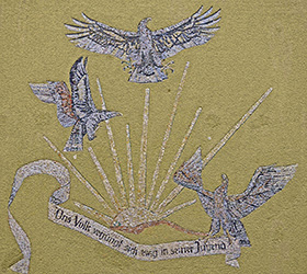 Feldmoching Adler Mosaik