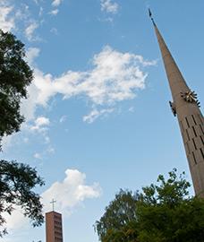Bewegte 50 Jahre der Evangeliumskirche