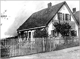 Zellner-Haus um 1920