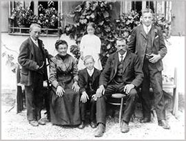 Familie Zellner um 1920