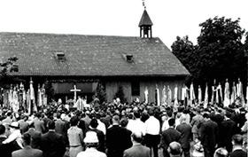 Fahnenweihe 1963