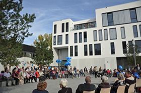 Stadtteilzentrum 2411 offiziell eröffnet