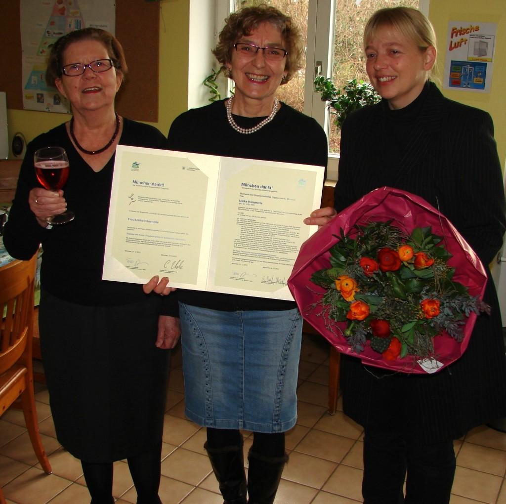 München dankt Ulrike Hämmerle