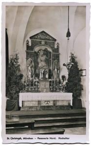 St. Christophorus, Hochaltar