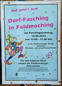 Feldmochinger Faschingstreiben 2013, Teil I