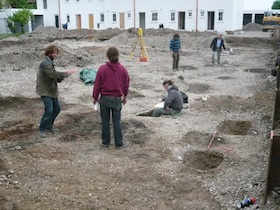 Alte Siedlungsspuren am Vettermelcherhof