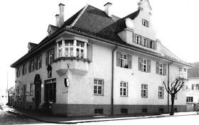 Das ehemalige Gemeindehaus um 1955