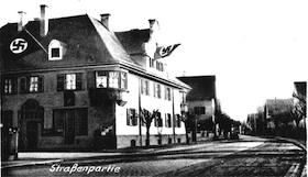 Das ehemalige Gemeindehaus zur Nazizeit