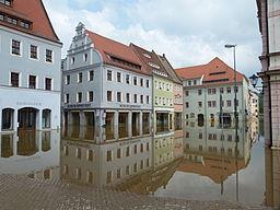 Hochwasser in Pirna, 2013