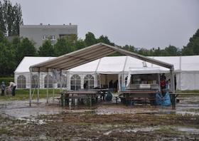Dülferanger: Türkisches Integrationsfest im Regen