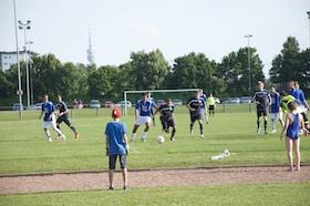 Benefizfußballspiel zu Gunsten von Lichtblick Hasenbergl