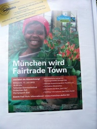 Feldmochinger Weltladen feiert Fairtrade Town München