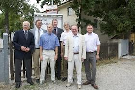Gesundheitsminister Huber besucht Alveni-Haus
