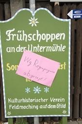 Schade: Untermühlfest ausgefallen