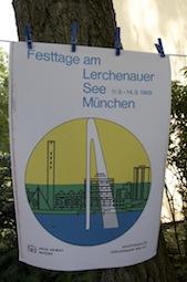 Anno dazumal war die Fontäne ein Markenzeichen der Siedlung