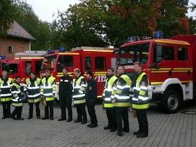 Umfangreiche Feuerwehrübungen in Ludwigsfeld