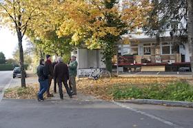 Fußgängerampel an der Lerchenstr. nicht möglich