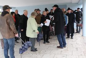Gedenkveranstaltung zum 75. Jahrestag der Pogromnacht