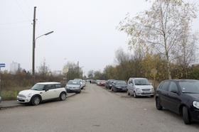 Auch hier soll rechts und links der Straße gebaut werden