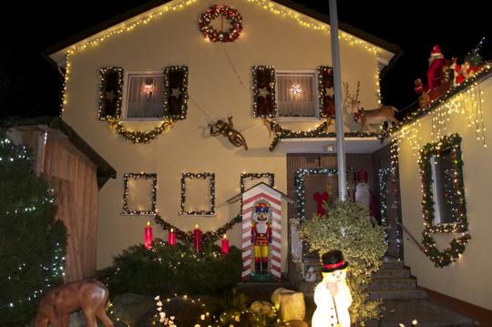 Weihnachtliche Illuminationen