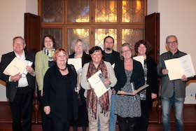 Bürgermeisterin Strobl ehrt  (ehemalige) BA-24-Mitglieder