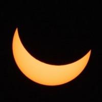 Feldmoching: So lief die Sonnenfinsternis ab