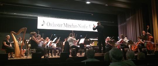 Gelungenes Sommerkonzert des  Orchesters München-Nord