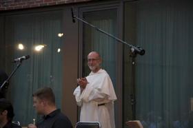 Der Hausherr des Dominikuszentrums: Pater Matthias