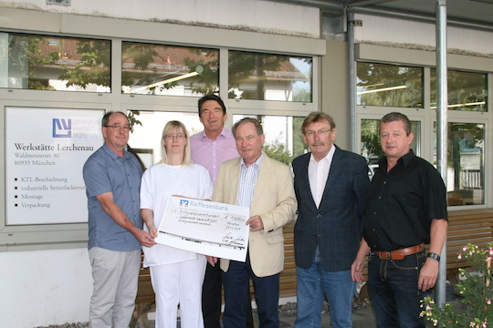 Lebenshilfe bekommt 1.600 Euro Spende