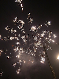 Grandioses Feuerwerk zu Silvester