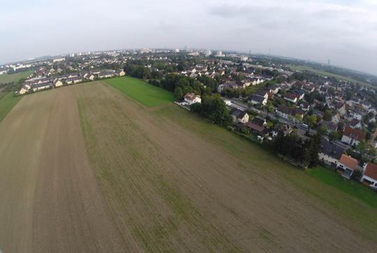 Hochmuttinger Str. : Stadtrat  beschließt 600 neue Wohnungen