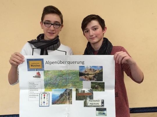 Schüler der Willy-Brandt-Gesamtschule wollen bis Meran gehen