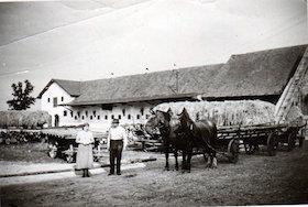 Das Dr. Wolff`sche Gut Ludwigsfeld etwa 1935