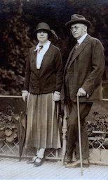 Johanna und Alfred Wolff, 2. 10. 1924