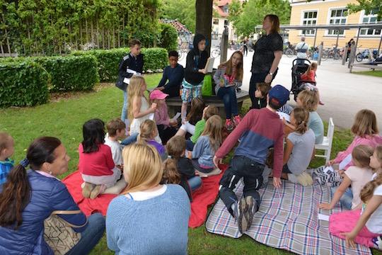 """""""Märchen"""" beim Lesefest an der Grundschule"""