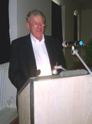 Rolf Rossius, Vorsitzender der Ost- und Westpreußenstiftung in Bayern