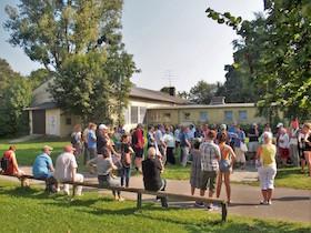 Führung durch das ehemalige  KZ-Außenlager Dachau-Allach