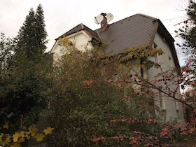 Das Haus Knospenstr. 4 wird auch abgerissen