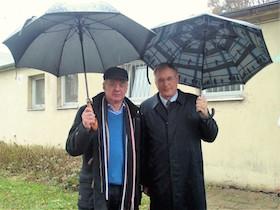 Initiator Klaus Mai und Bundestagsvizepräsident Singhammer
